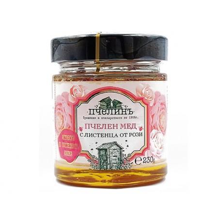 Мед с Листенца от Роза, Пчелинъ, 230g