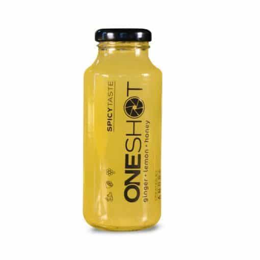 Сок Джинджифил Лимон и Мед, 250ml, OneShot