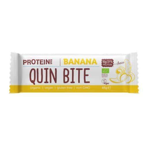 Био Протеиново Барче Шоко Банан, 45g, Quin Bite