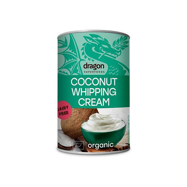 Био Кокосова Сметана 30% (за разбиване), 400ml, Dragon Superfoods