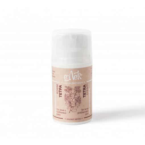 Крем за лице Тетра - акне и проблемна кожа, еЛек, 50ml