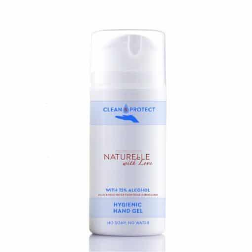 Гел за ръце Clean and Protect, 50ml, Naturelle With Love & I CAN TOO