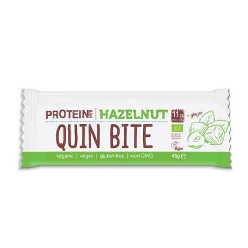 Био Протеиново Барче Лешници, 45g, Quin Bite