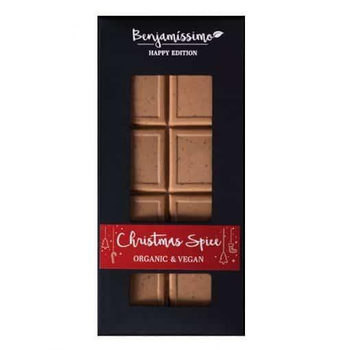 Био веган какаов десерт Winter Spice, Benjamissimo Happy Edition, 60g
