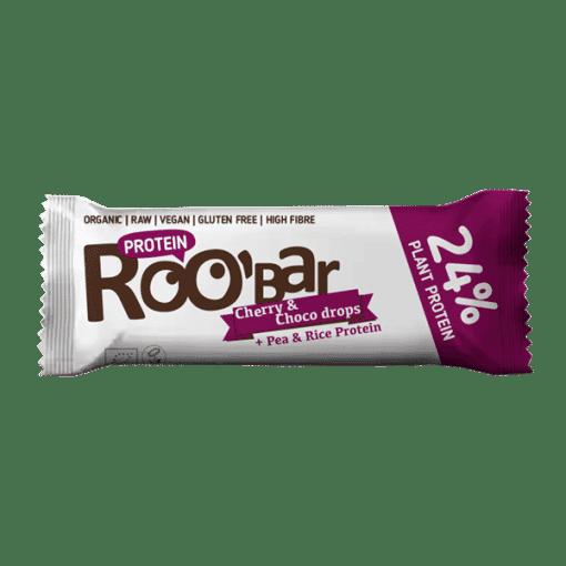 Суров протеинов десерт с череша и шоколад, 40g, Roobar