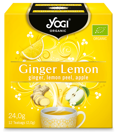 Био Чай Джинджифил и Лимон, Yogi Organic, 12 пакетчета