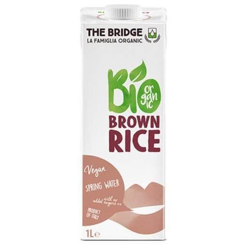 Био Напитка Оризова от кафяв ориз без глутен, The Bridge, 1 l