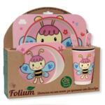 Детски бамбуков сет за хранене, Folium