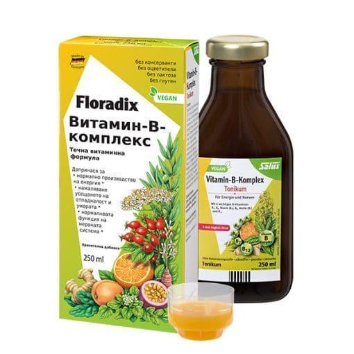 Витамин В-Комплекс, Floradix, 250 ml