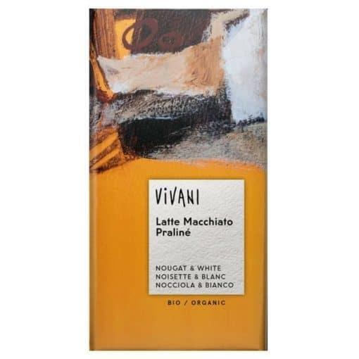 Био Шоколад Лате Макиато и Нуга крем, Vivani, 100 g