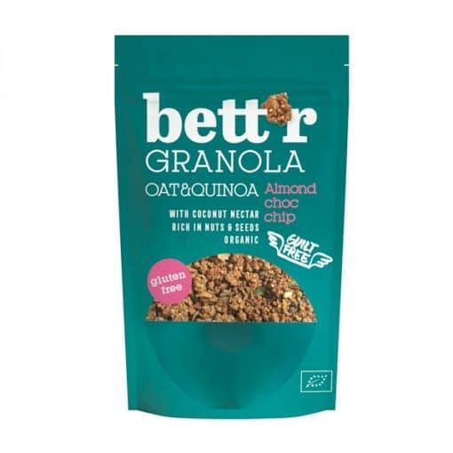 Био Гранола с Бадеми и Шоколад, Bettr, 300 g
