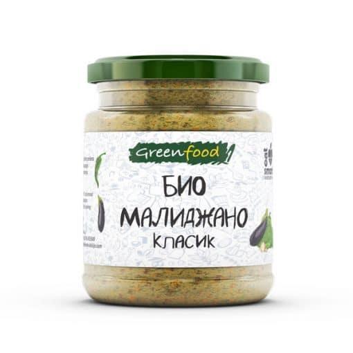 Мелиджано (паста от патладжани и чушки), Greenfood, 260 g