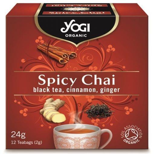 Био Чай Пикантен, Yogi Organic, 12 пакетчета