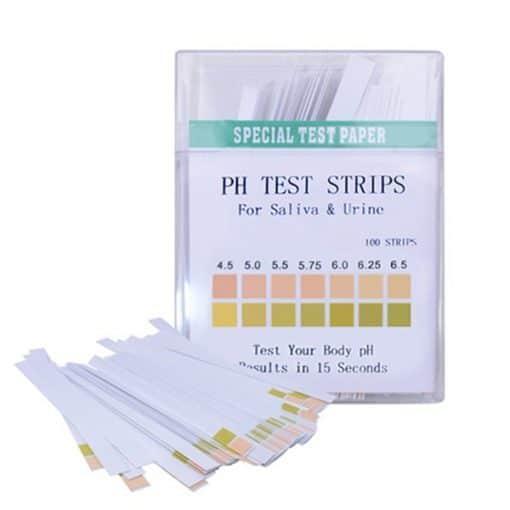 pH Тест Ленти с широк спектър рН 4.5 - рН 9.0,100 броя