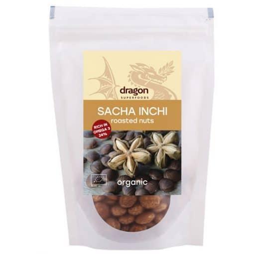 Био Саша Инчи Семена, печени, Dragon Superfoods, 150 g