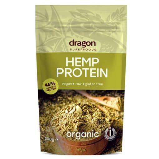 Био Протеин от Конопено Семе, 200g, Dragon Superfoods