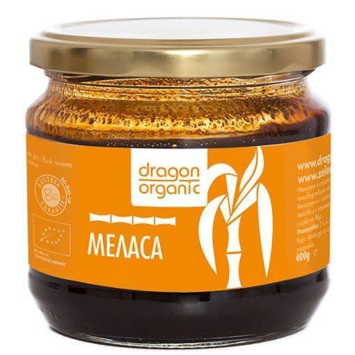 Био Меласа от Захарна Тръстика, 400g, Dragon Superfoods