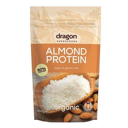 Био Бадемов Протеин на прах, Dragon Superfoods, 200 g