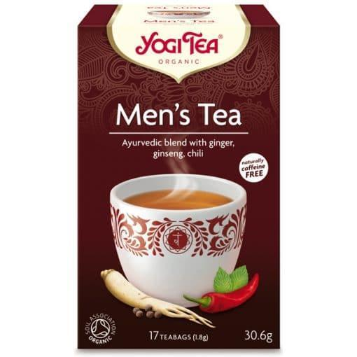 Био Аюрведичен Чай за Мъже, Yogi Тea, 17 пакетчета