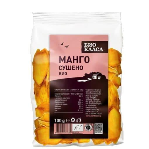 Био Манго, сушено, Био Класа, 100 g