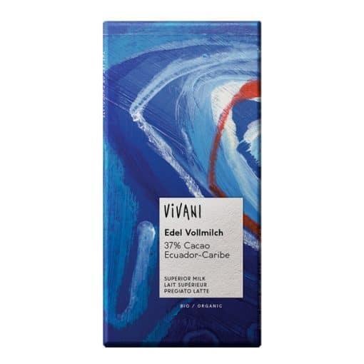 Био Фин Млечен Шоколад 37%, Vivani, 100 g