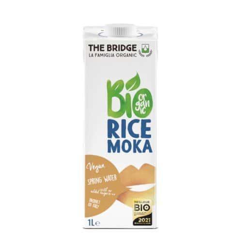 Био Оризова Напитка Мока с Печен Ечемик, The Bridge, 1 L