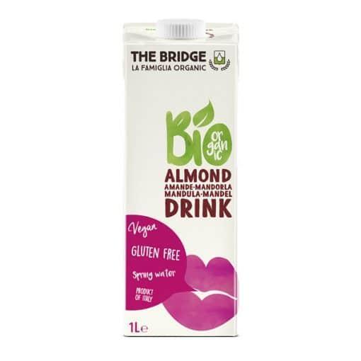 Био Бадемова напитка (3%), без глутен, The Bridge, 1 L