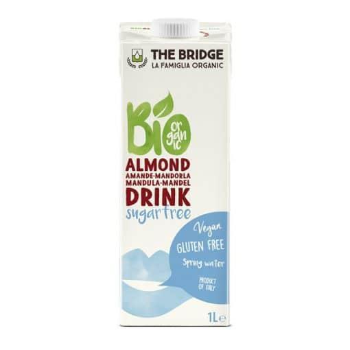 Био Бадемова напитка (3%), без глутен и без захар, The Bridge, 1 L
