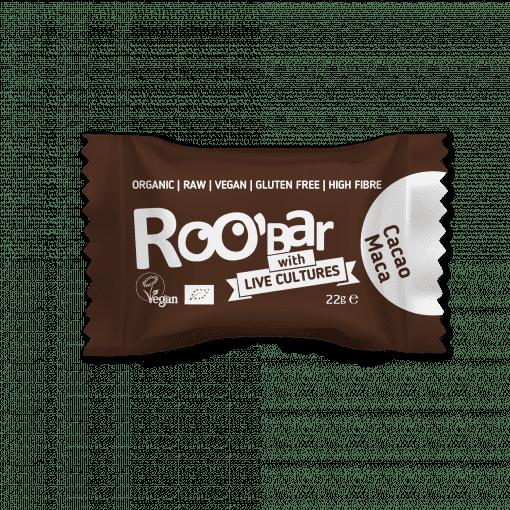 Био Сурови Топчета с Мака и Какао, 22g, Roobar with live cultures