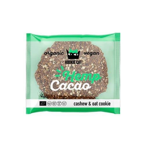 Био Курабийка с Конопени семена и Какао, 50g, Kookie Cat