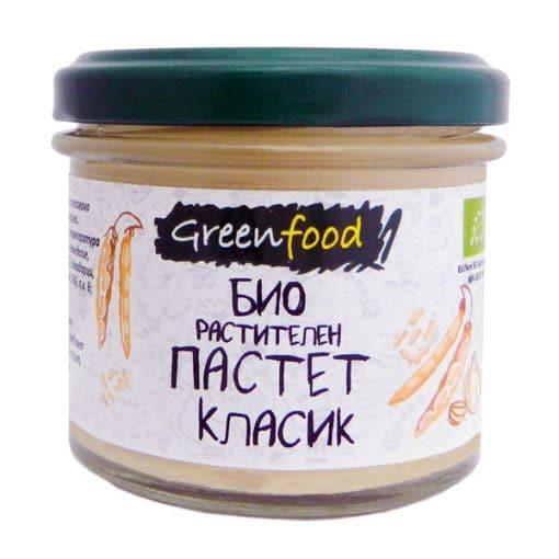 Био Пастет Растителен Класик, Greenfood, 125 ml