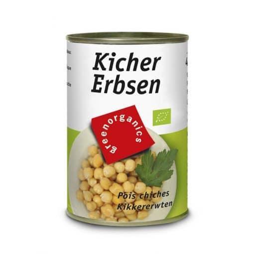 Био Нахут, консерва, Green - Bio Tropic, 400 g