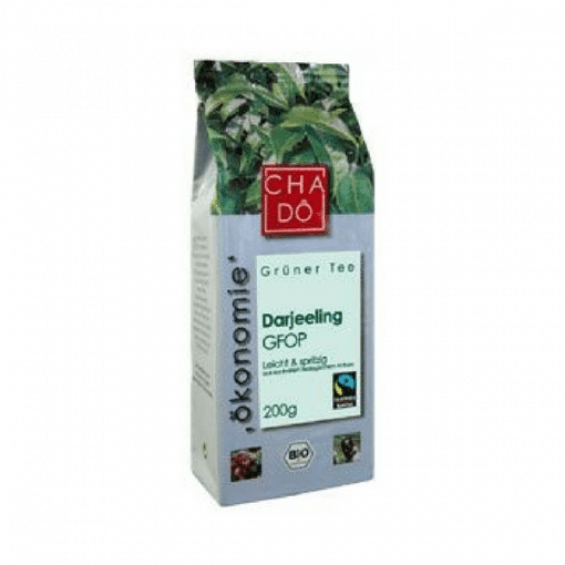 Био Зелен Чай Darjeeling, насипен, Cha Do Teehandel, 200 g