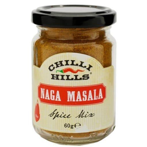 Люта Подправка Naga Masala, Chilli Hills, 70 g