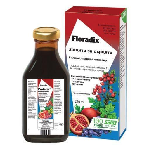 Защита за Сърцето, Floradix, 250 ml