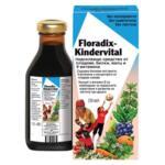 Детски Мултивитамини Kindervital, Floradix, 250 ml