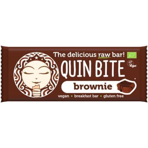 Био Сурово Барче Брауни, Quin Bite, 30 g