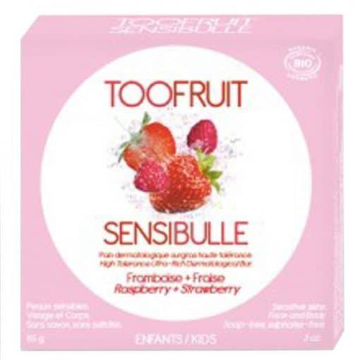 Нежен сапун с ягода и малина, Toofruit, 85 g