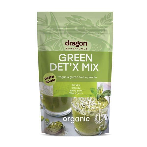 Био Зелен Детокс Микс, 200g, Dragon Superfoods,