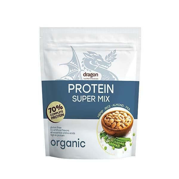 Био Протеинов Шейк Супермикс, 1,5kg, Dragon Superfoods