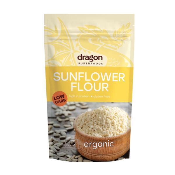 Био Брашно от Слънчогледови Семена, 200g, Dragon Superfoods