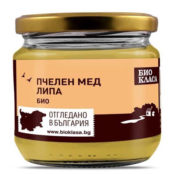 Био Мед от Липа, 500g, Био Класа