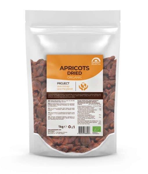 Био Кайсии, сушени, 1kg, Smart Organic