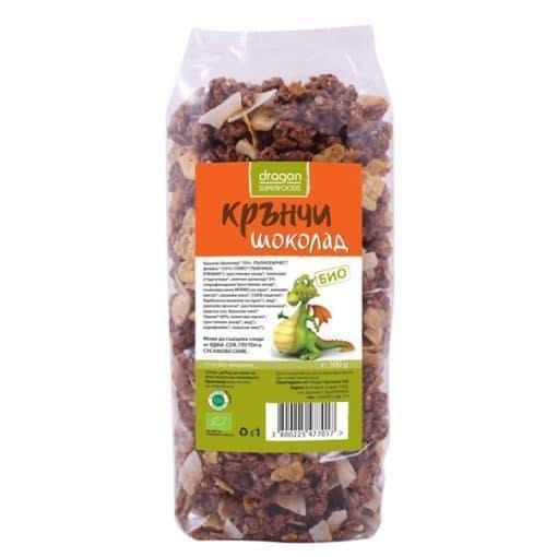 Био Крънчи Шоколад, Dragon Superfoods, 300 g