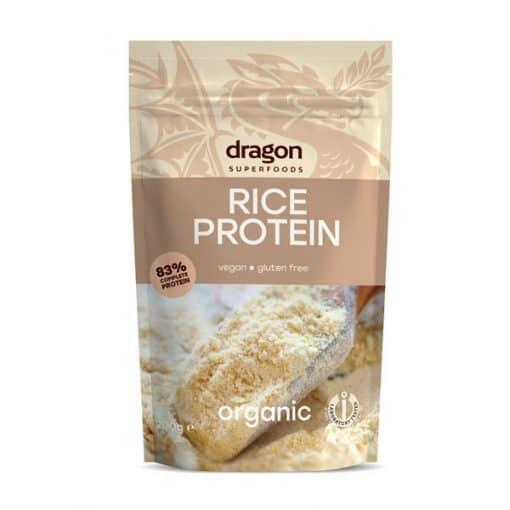 Био Оризов Протеин на прах, Dragon Superfoods, 200 g