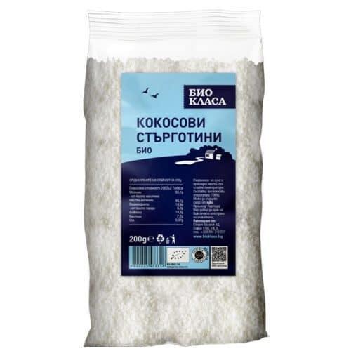 Био Кокосови Стърготини, Био Класа, 200 g