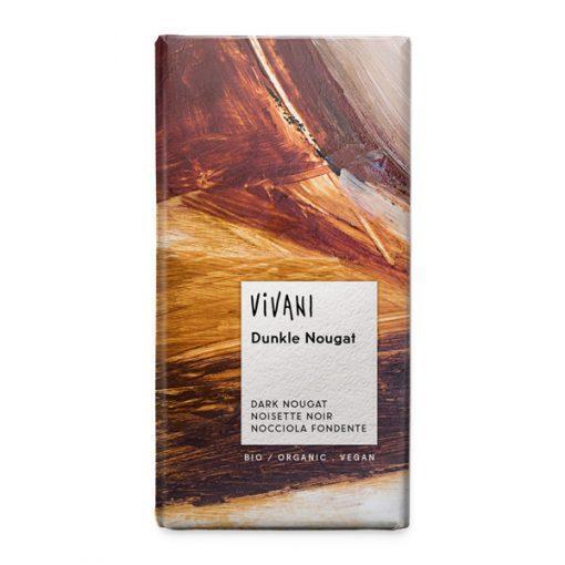Био Тъмен Шоколад с Нуга Крем, Vivani, 100 g