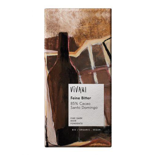Био Фин Натурален Шоколад 85%, Vivani, 100 g