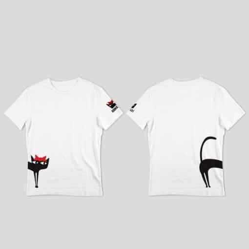 Тениска Fast and Curious Cat, Kookie Cat - един размер