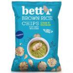 Bett`r Чипс от кафяв пълнозърнест ориз с чиа и киноа, 60 г